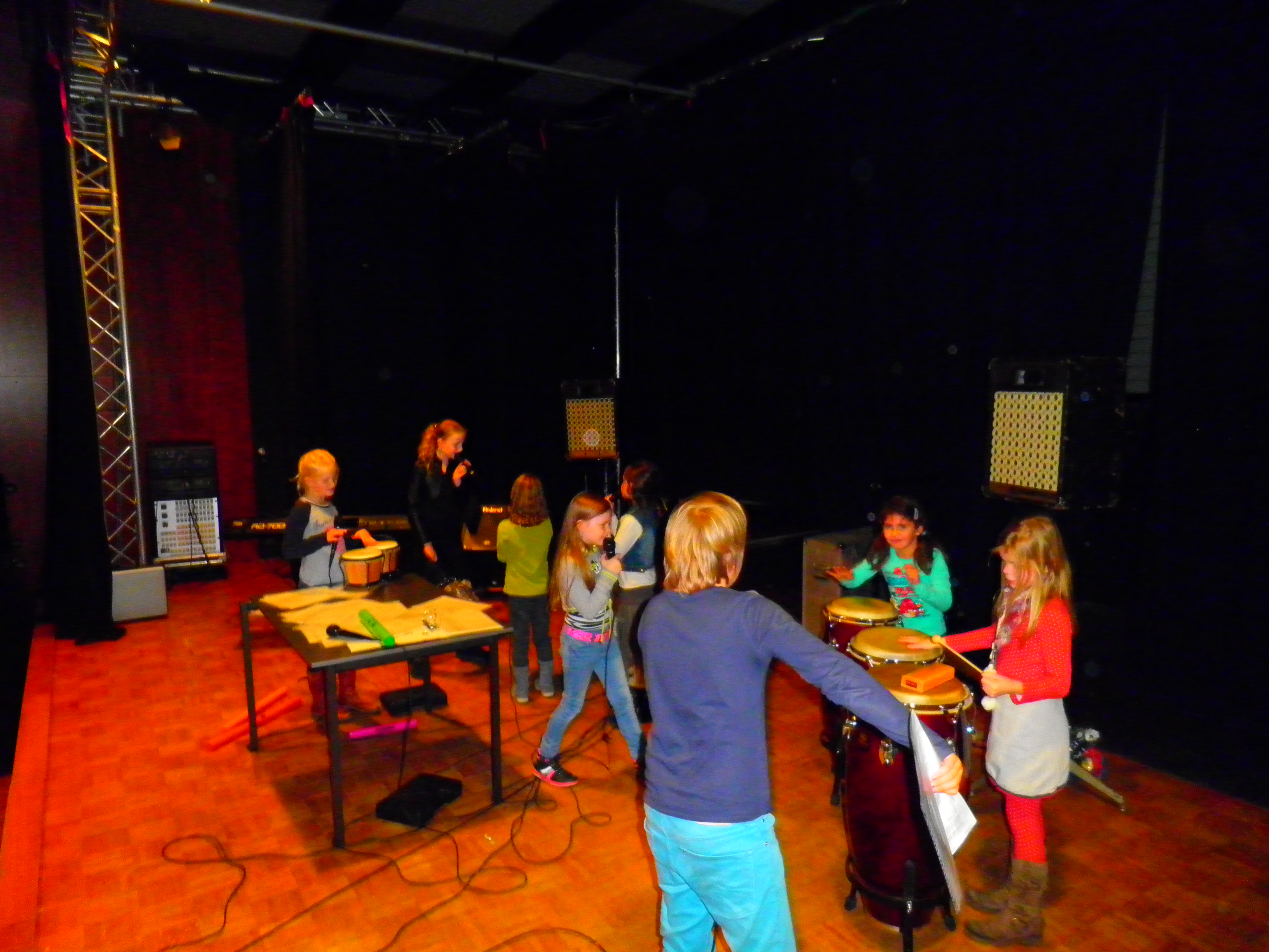 repetitie in volle gang
